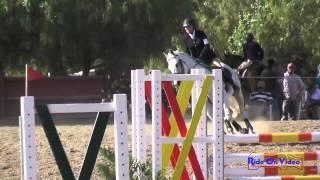 262S Dena Durelle on Sterling Credit SR Beginner Novice Show Jumping Copper Meadows June 2014