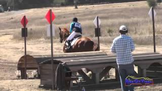 048XC Kristen Merala on Tiki Tiki Tumbo CIC1* Cross Country Woodside Int'l Event Oct 2014