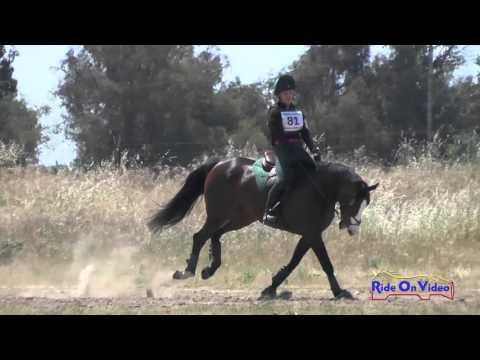 081XC Taylor Hansen On Whisper JR Novice Cross Country FCHP April 2016