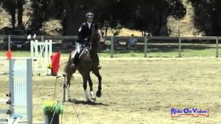 243S Jolie Wentworth On Peroni Open Beginner Novice Cross Country Shepherd Ranch June 2015