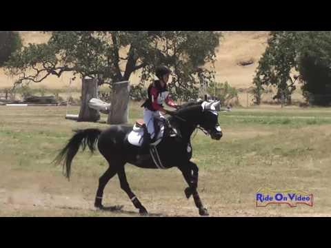 021XC Gemma Forshaw On Stella Marie JR Training Cross Country Shepherd Ranch June 2016