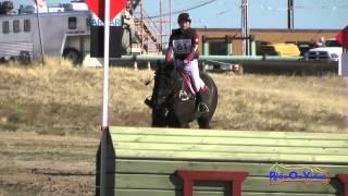 061XC Tracy Alves on Desert Pearl SR Training Cross Country FCHP April 2015