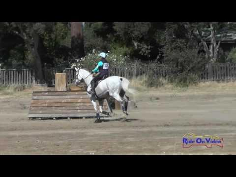 226XC Delaney Vaden On Call Me Hobbes Training Horse Cross Country Woodside October 2016