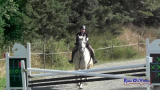 278S Anna Frank on FHF Frederic Open Novice Show Jumping Whidbey Island July 2017
