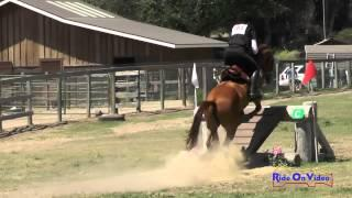 103XC Katie Brown On Armato Preliminary Rider Cross Country Shepherd Ranch June 2015