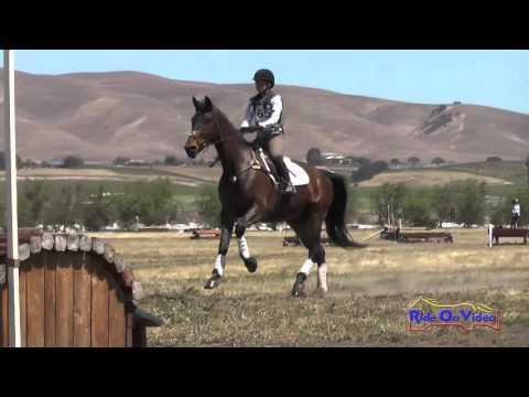 465XC Meagan Rafferty On Padawan SR Novice Cross Country Twin Rivers Ranch April 2016
