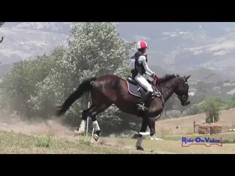 042XC Hailey Johnson On NVR Peter The Great JR Training Cross Country Shepherd Ranch June 2016