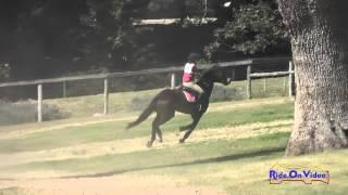 022XC Ally Dangerfield On Just Ducky Training Rider Cross Country Shepherd Ranch August 2015
