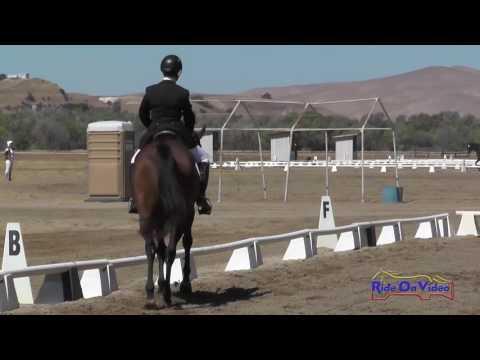 177D Deborah Rosen On This One's For Mat Training Horse Dressage Twin Rivers Ranch Sept. 2016