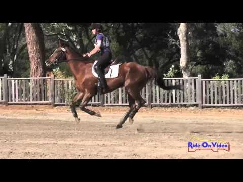 157XC Alexandra Tataru On Without A Doubt SR Training Cross Country Woodside Oct 2015