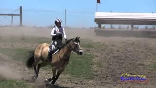 143XC Angela Mitchell On Nova SR Training Cross Country Shepherd Ranch June 2015