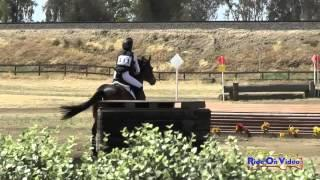 111XC Priya Patel on Bay Breeze YR Novice Cross Country FCHP April 2015