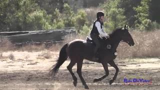 240XC Julia Tussing on Charm Offensive SR Novice Cross Country Woodside Int'l Event Oct 2014