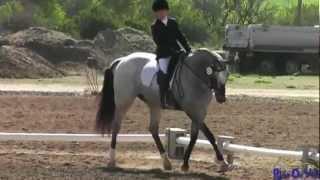 111D Mia Farley JR Training Rider Dressage at Twin Rivers Ranch April 2012