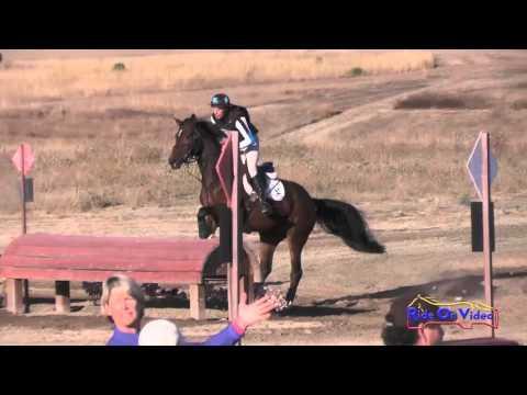 201XC Alexis Helfrich On Zathalida SE Open Training Cross Country Woodside Oct 2015
