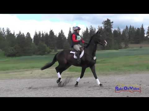 280XC Cindy Marvin On Fool Me Once Open Preliminary Cross Country Spokane Sport Horse HT May 2016