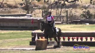 115XC Christine Poulos on DSH Carra Clover Princess Sr Training XC Shepherd Ranch Aug 2014