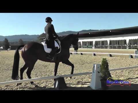 023D Florence Miller On Tuscan Sun CIC2* Dressage Woodside October 2014