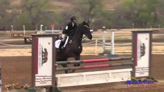 081S Mia Farley on Just a Mystery JR Training Show Jumping Twin Rivers Ranch Sept 2014