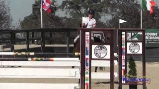 053S Ruth Bley on Rodrigue Du Granit CIC1* Show Jumping Woodside Int'l Event Oct 2014