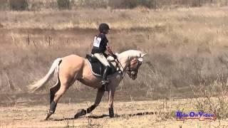 278XC Haley Turner Area VI Championships Novice Rider Cross Country Woodside Int'l Event Oct 2014