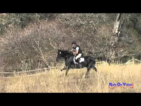 064XC Amy West On Whirlwind WF Advanced Cross Country Woodside Oct 2015