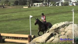 314XC Sarah Hepfner on Montego SR Novice Cross Country Copper Meadows March 2015