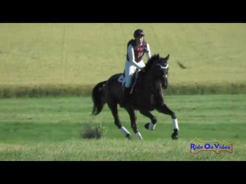 060XC Katie Yozamp On Wishbone CCI2* Cross Country Rebecca Farm July 2016