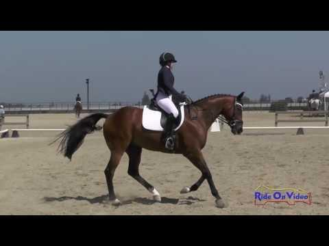 091D Ashley Long On Rochambeau JR Training Dressage Woodside August 2016