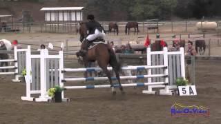022S Nicci Guzzetta on Queen of Spades Junior Training Rider Stadium Shepherd Ranch August 2014