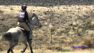 148XC Ari Kann on Williamson Open Novice Cross Country FCHP April 2015