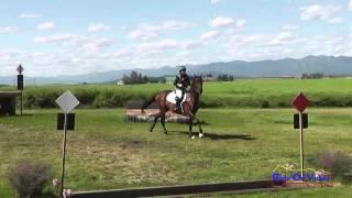 170XC Bunnie Sexton on My Versace Preliminary Cross Country The Event at Rebecca Farm July 2014