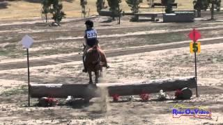 233XC Anderson Rogers On Gambler Intro Cross Country Galway Downs May 2015