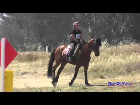 058XC Erica Stancliff On Kilbarry Hope SR Training Cross Country FCHP April 2016