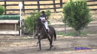 028XC Holly Fox On Flash Gordon Open Preliminary Cross Country Galway Downs May 2015