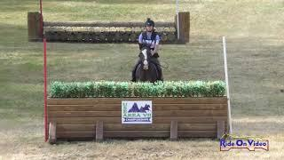 146XC Siena Massey on Mante's My Tyme Open Training Cross Country Aspen Farms Sept. 2019