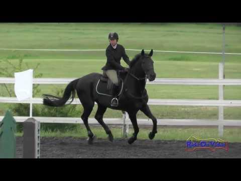154S Joanne Emerson On Pantero SR Novice Show Jumping Spokane Sport Horse HT May 2016