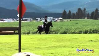 355XC Carmen Holmes Smith on Digby JR Training Cross Country The Event at Rebecca Farm July 2014