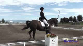 175D Sarah Gilmour On Arabesque JR/YR Preliminary Dressage The Event At Rebecca Farm July 2015
