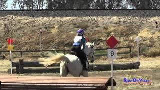 121XC Sienna Bowler on Ten Dirty Dimes YR Novice Cross Country FCHP April 2015