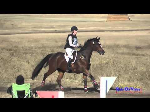 100XC Jennifer Salinger On Sabrina JR/YR Open Preliminary Cross Country Woodside Oct 2015