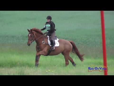 235XC Louise Reulbach On Kaoimhe SR Preliminary Cross Country Spokane Sport Horse HT May 2016