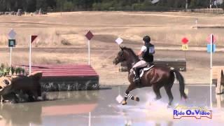 021XC Allison Sparks on Mystic Mojo CIC2* Cross Country Woodside Int'l Event Oct 2014