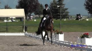 014D Josey Thompson On Pistol Annie CCI1* Dressage The Event At Rebecca Farm July 2015