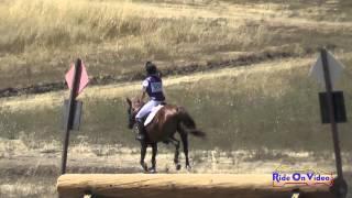 309XC Makenzie Holley On Lady Luck SR Beginner Novice Cross Country Woodside August 2015