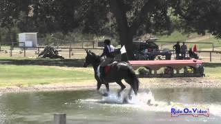 093XC Jessica Fugle On Banico SR Beginner Novice Cross Country Shepherd Ranch August 2015