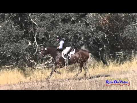 005XC Allison Sparks On Mystic Mojo CIC3* Cross Country Woodside Oct 2015