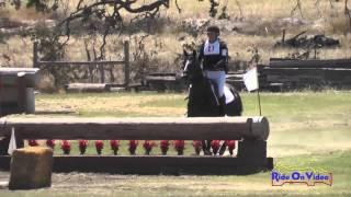 027XC Roberta Zajac on Absolute Faith Senior Training Rider Cross Country Shepherd Ranch August 2014