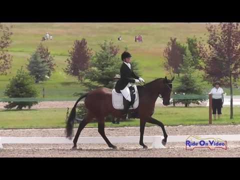 150D Barbara Flynn On P K  Cooper Open Preliminary Dressage Rebecca Farm July 2016