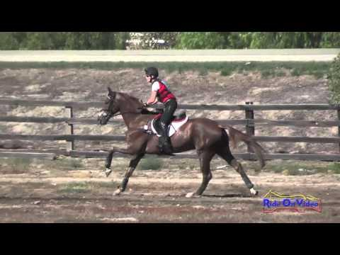 012XC Lisa Marie Fergusson On Honor Me CCI3* Cross Country Galway Downs Int'l Nov. 2015
